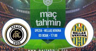 Spezia - Hellas Verona İddaa Analizi ve Tahmini 03 Ocak 2021