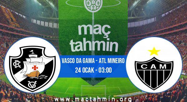 Vasco Da Gama - Atl Mineiro İddaa Analizi ve Tahmini 24 Ocak 2021