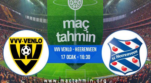 VVV Venlo - Heerenveen İddaa Analizi ve Tahmini 17 Ocak 2021