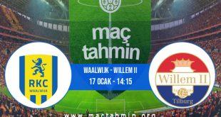 Waalwijk - Willem II İddaa Analizi ve Tahmini 17 Ocak 2021