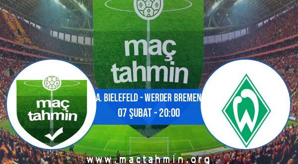 A. Bielefeld - Werder Bremen İddaa Analizi ve Tahmini 07 Şubat 2021