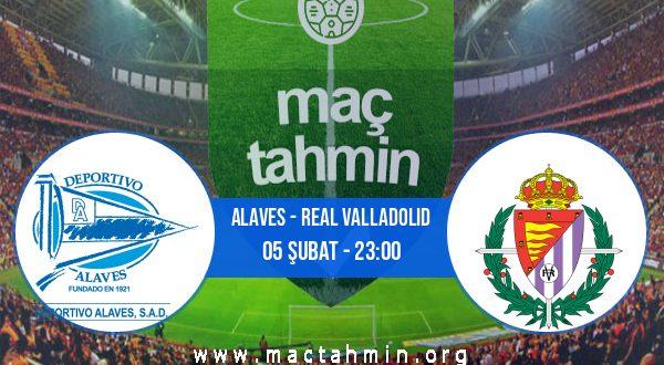 Alaves - Real Valladolid İddaa Analizi ve Tahmini 05 Şubat 2021