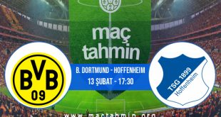 B. Dortmund - Hoffenheim İddaa Analizi ve Tahmini 13 Şubat 2021