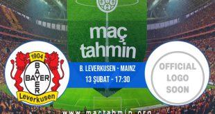B. Leverkusen - Mainz İddaa Analizi ve Tahmini 13 Şubat 2021
