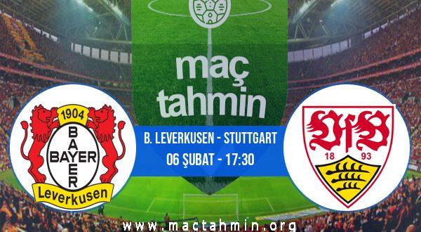 B. Leverkusen - Stuttgart İddaa Analizi ve Tahmini 06 Şubat 2021