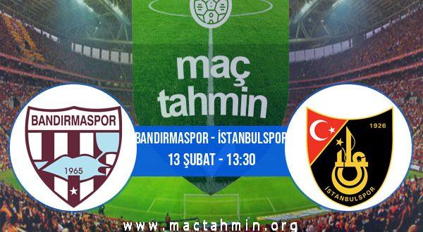 Bandırmaspor - İstanbulspor İddaa Analizi ve Tahmini 13 Şubat 2021