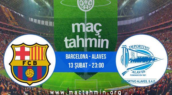 Barcelona - Alaves İddaa Analizi ve Tahmini 13 Şubat 2021