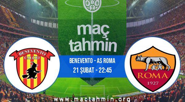 Benevento - AS Roma İddaa Analizi ve Tahmini 21 Şubat 2021