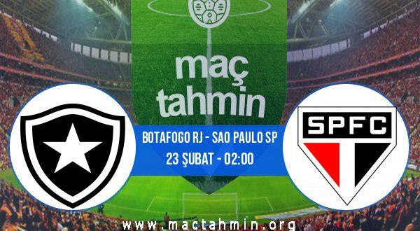 Botafogo RJ - Sao Paulo SP İddaa Analizi ve Tahmini 23 Şubat 2021