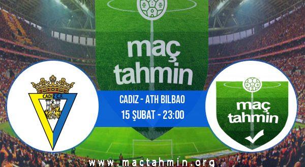 Cadiz - Ath Bilbao İddaa Analizi ve Tahmini 15 Şubat 2021