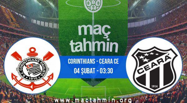Corinthians - Ceara CE İddaa Analizi ve Tahmini 04 Şubat 2021
