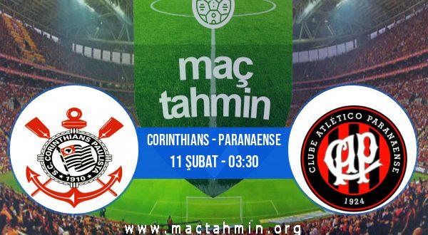 Corinthians - Paranaense İddaa Analizi ve Tahmini 11 Şubat 2021