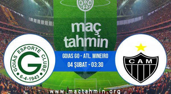 Goias GO - Atl. Mineiro İddaa Analizi ve Tahmini 04 Şubat 2021
