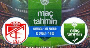 Granada - Atl Madrid İddaa Analizi ve Tahmini 13 Şubat 2021