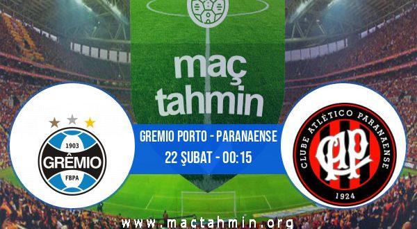 Gremio Porto - Paranaense İddaa Analizi ve Tahmini 22 Şubat 2021
