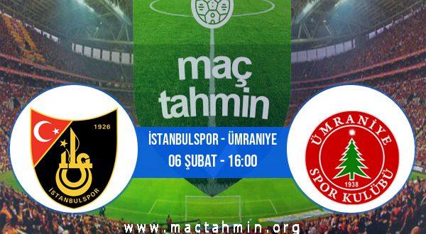 İstanbulspor - Ümraniye İddaa Analizi ve Tahmini 06 Şubat 2021
