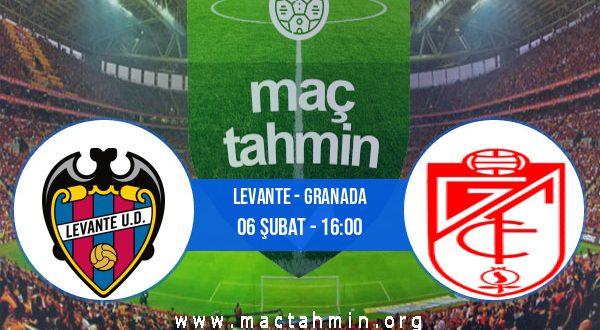 Levante - Granada İddaa Analizi ve Tahmini 06 Şubat 2021