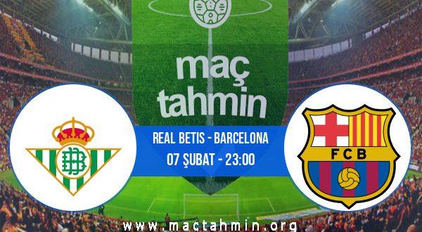 Real Betis - Barcelona İddaa Analizi ve Tahmini 07 Şubat 2021