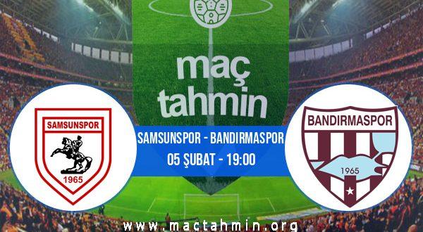 Samsunspor - Bandırmaspor İddaa Analizi ve Tahmini 05 Şubat 2021