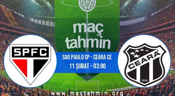 Sao Paulo SP - Ceara CE İddaa Analizi ve Tahmini 11 Şubat 2021