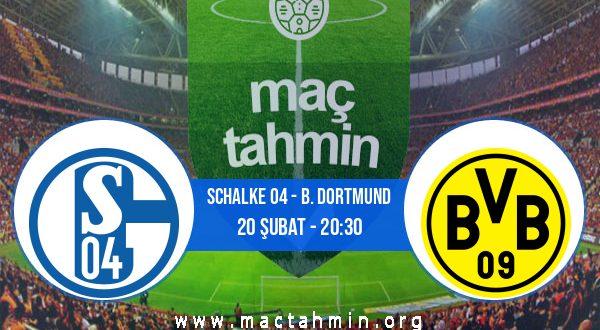 Schalke 04 - B. Dortmund İddaa Analizi ve Tahmini 20 Şubat 2021