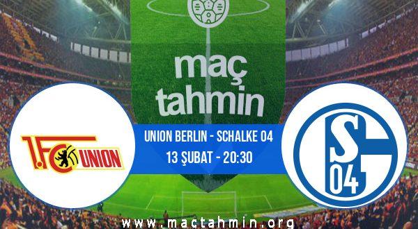 Union Berlin - Schalke 04 İddaa Analizi ve Tahmini 13 Şubat 2021
