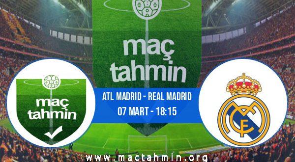 Atl Madrid - Real Madrid İddaa Analizi ve Tahmini 07 Mart 2021