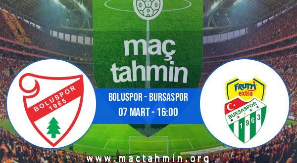 Boluspor - Bursaspor İddaa Analizi ve Tahmini 07 Mart 2021