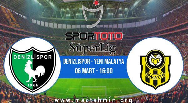Denizlispor - Yeni Malatya İddaa Analizi ve Tahmini 06 Mart 2021