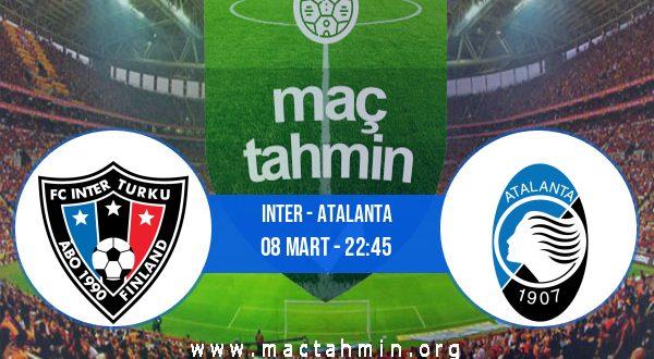 Inter - Atalanta İddaa Analizi ve Tahmini 08 Mart 2021