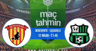 Benevento - Sassuolo İddaa Analizi ve Tahmini 12 Nisan 2021