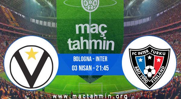 Bologna - Inter İddaa Analizi ve Tahmini 03 Nisan 2021