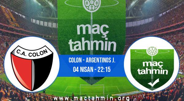 Colon - Argentinos J. İddaa Analizi ve Tahmini 04 Nisan 2021