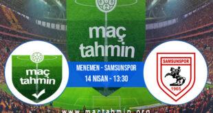 Menemen - Samsunspor İddaa Analizi ve Tahmini 14 Nisan 2021