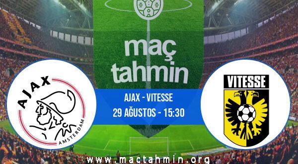 Ajax - Vitesse İddaa Analizi ve Tahmini 29 Ağustos 2021