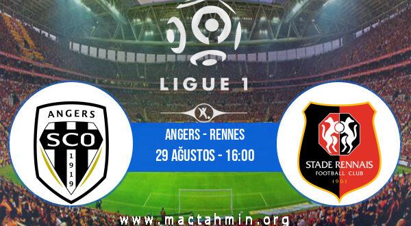 Angers - Rennes İddaa Analizi ve Tahmini 29 Ağustos 2021