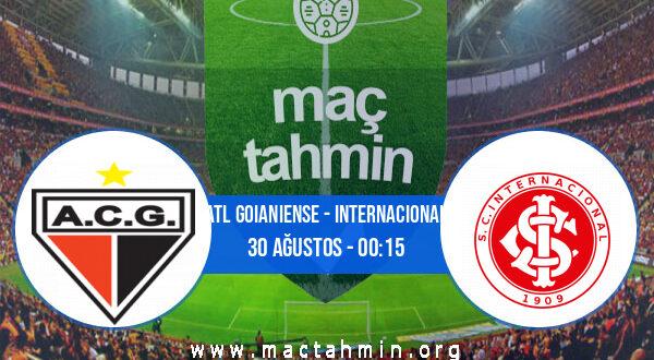 Atl Goianiense - Internacional İddaa Analizi ve Tahmini 30 Ağustos 2021