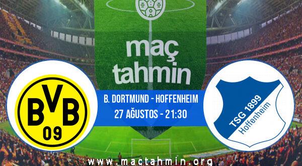 B. Dortmund - Hoffenheim İddaa Analizi ve Tahmini 27 Ağustos 2021