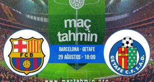 Barcelona - Getafe İddaa Analizi ve Tahmini 29 Ağustos 2021