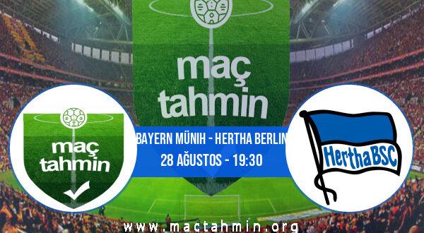 Bayern Münih - Hertha Berlin İddaa Analizi ve Tahmini 28 Ağustos 2021