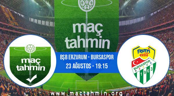 Bşb Erzurum - Bursaspor İddaa Analizi ve Tahmini 23 Ağustos 2021