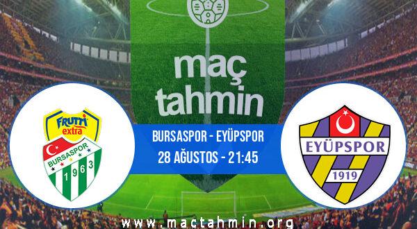 Bursaspor - Eyüpspor İddaa Analizi ve Tahmini 28 Ağustos 2021
