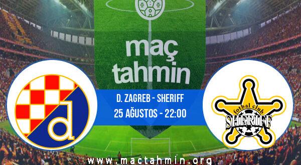 D. Zagreb - Sheriff İddaa Analizi ve Tahmini 25 Ağustos 2021