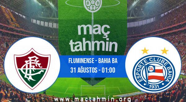 Fluminense - Bahia BA İddaa Analizi ve Tahmini 31 Ağustos 2021