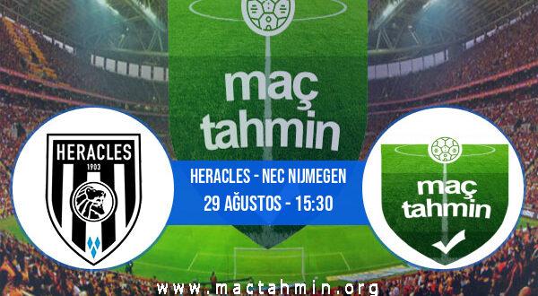 Heracles - NEC Nijmegen İddaa Analizi ve Tahmini 29 Ağustos 2021