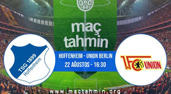 Hoffenheim - Union Berlin İddaa Analizi ve Tahmini 22 Ağustos 2021