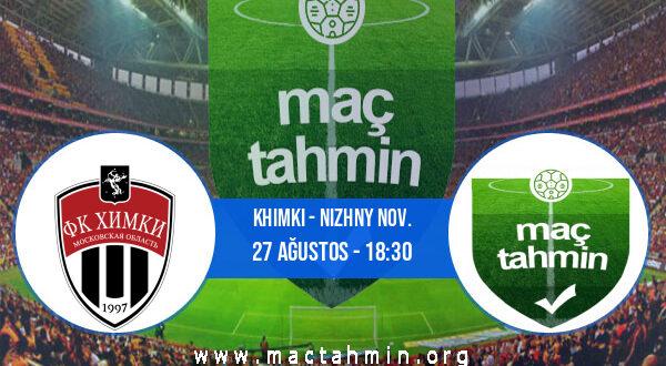 Khimki - Nizhny Nov. İddaa Analizi ve Tahmini 27 Ağustos 2021