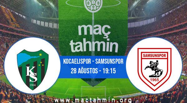 Kocaelispor - Samsunspor İddaa Analizi ve Tahmini 28 Ağustos 2021