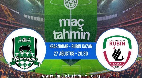 Krasnodar - Rubin Kazan İddaa Analizi ve Tahmini 27 Ağustos 2021