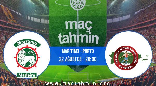 Maritimo - Porto İddaa Analizi ve Tahmini 22 Ağustos 2021